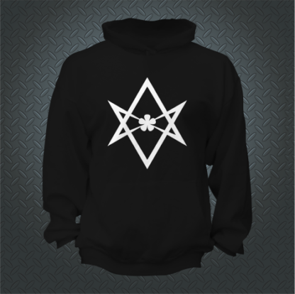 93 Thelemic Do What Thou Wilt Hoodie Front