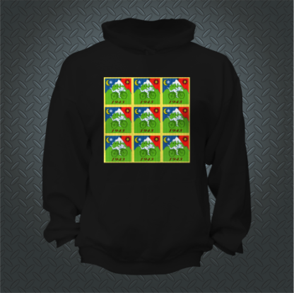 Dr Hofmanns Bicycle Ride Blotter Paper Hoodie Front