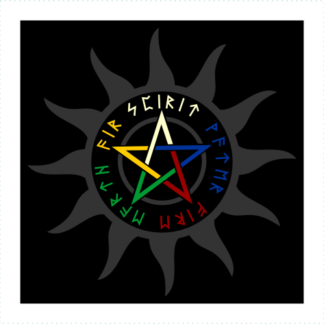Fire Water Air Earth Spirit Logo
