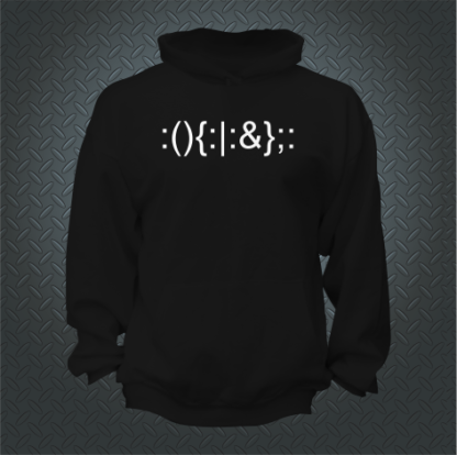 Forkbomb Hoodie Front