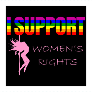 I Support Womens Rights Logo