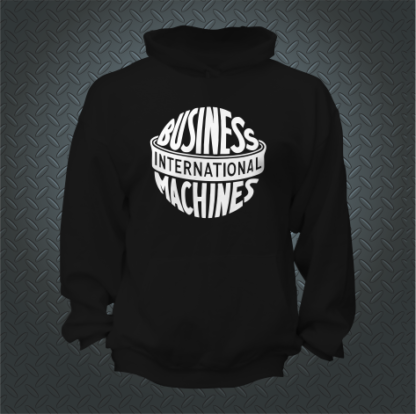 International Business Machines Hoodie Front