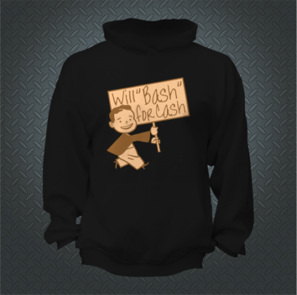 Will Bash For Cash Hoodie Front