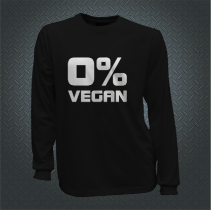 Zero Percent Vegan Long Front