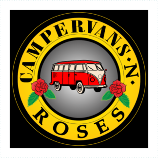 Campervans And Roses