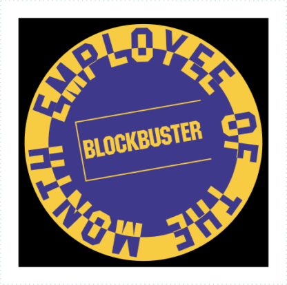 Blockbuster Employee Of The Month